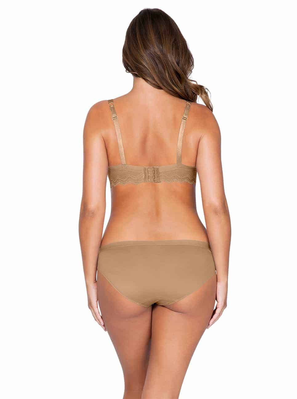 Lydie P5441ContourPadded P5443 Bikini NudeBack copy - Lydie Contour Padded Bra – European Nude – P5441