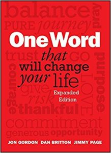 one word that will change your life by jon gordon dan britton jimmy page