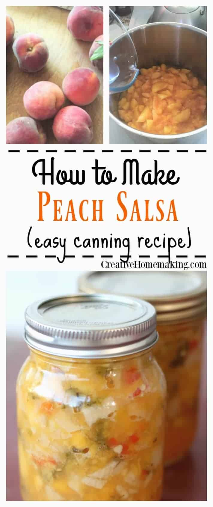 peach salsa creative home making - 7 Healthy Treats for Satisfying Sugar Cravings + An Easy Homemade Popcorn Recipe