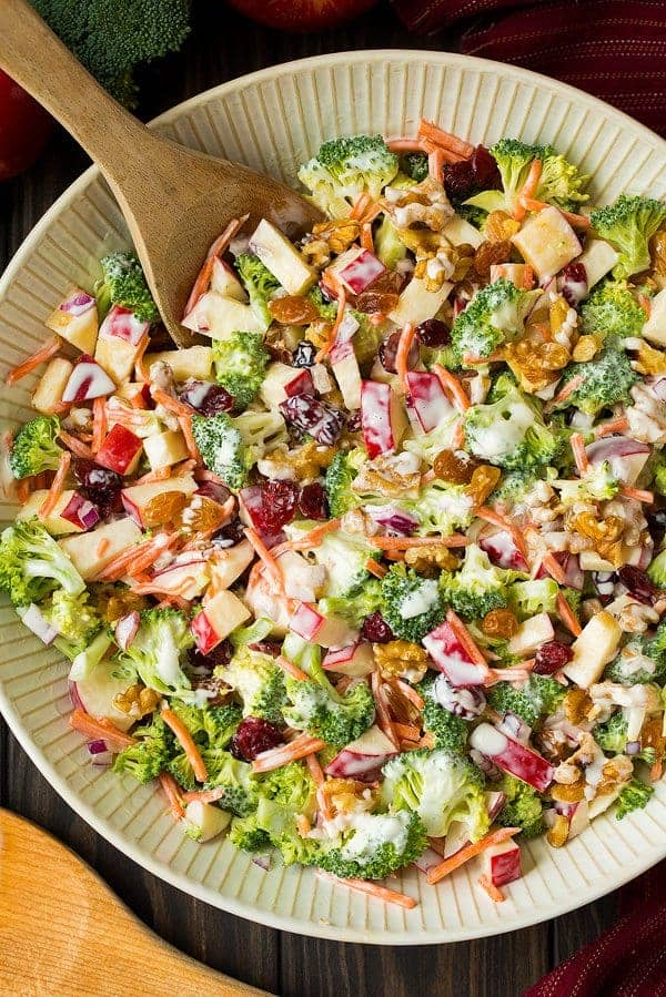 cooking classy broccoli apple salad - 12 Refreshing Dinner Dishes Perfect for Hot Weather