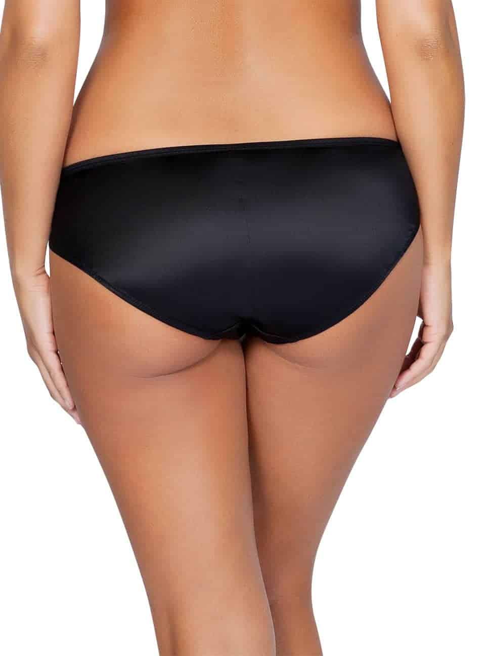 Charlotte Bikini6905 Black Back - Charlotte Bikini - Black - 6905