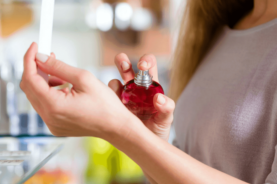 spritz some perfume - 4 Products That Will Simplify Your Morning Beauty Routine