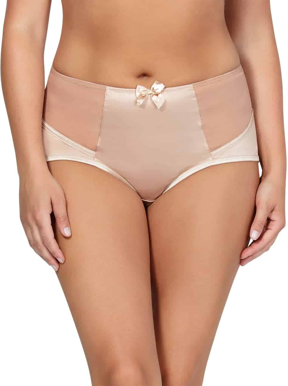 Charlotte HighwaistBrief6917 TrueNude Front2 - Charlotte Highwaist Brief - True Nude - 6917