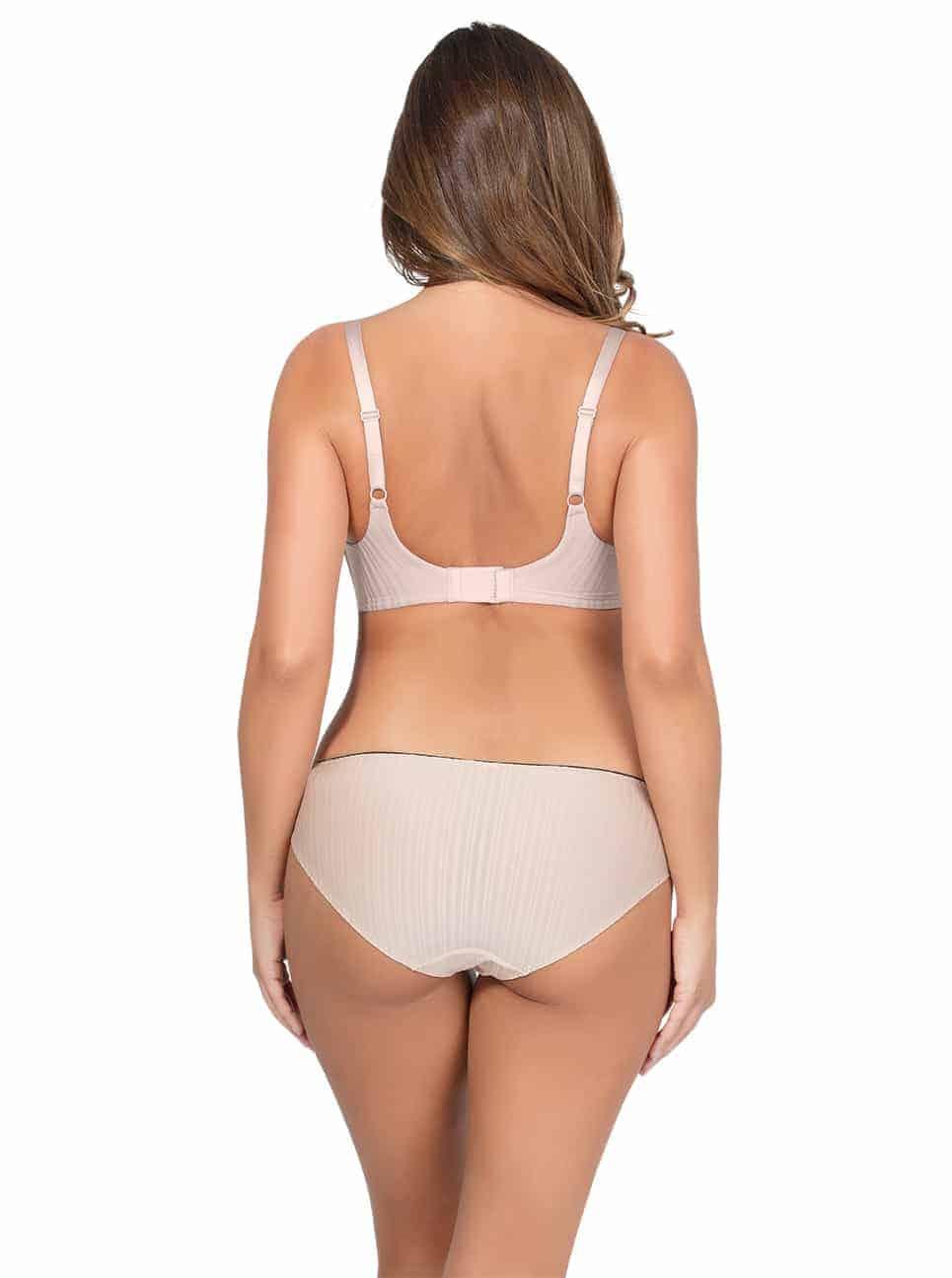 PARFAIT Aline Wire FreePaddedBraP5252 BikiniP5253 Nude Back - Aline Wire-Free Padded Bra - Nude - P5252