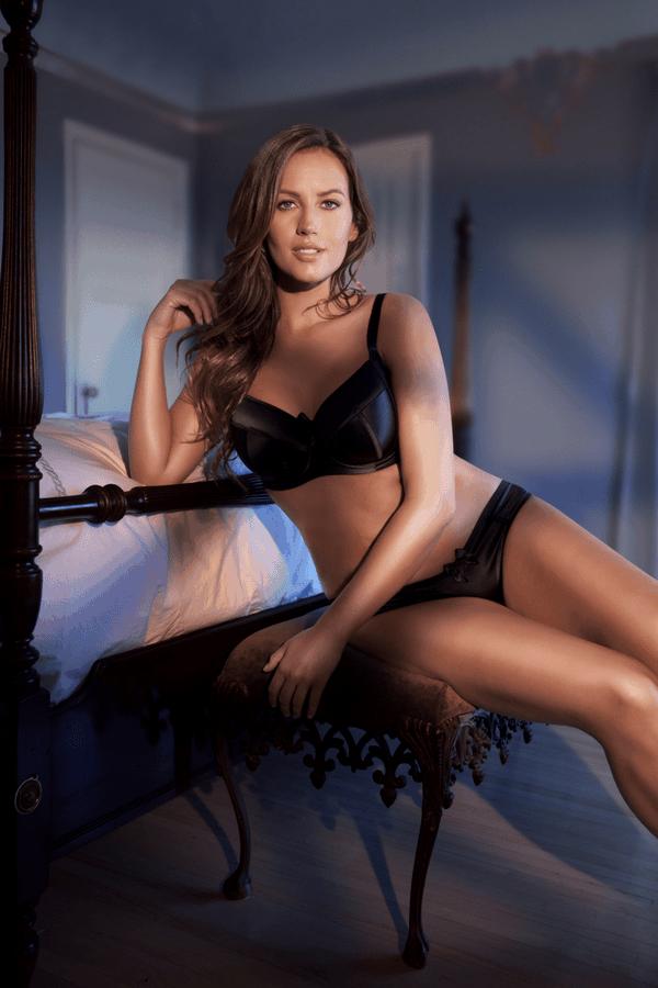 sexy black bra