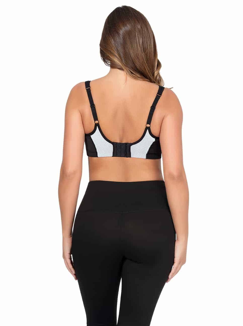 ParfaitActive SportsBraP5541 Black Back - Parfait Active Sports Bra - Black - P5541