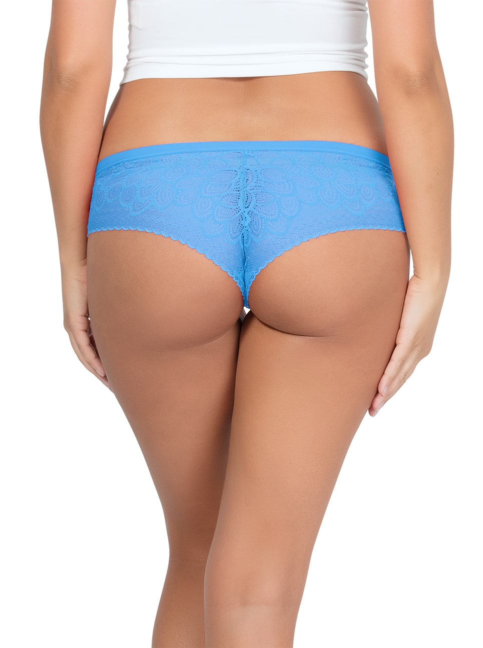 ParfaitPanty SoGlam HIPSTERPP502 MediterraneanBlue BACK 1 - Parfait Panty So Glam Hipster - Mediterranean Blue - PP502