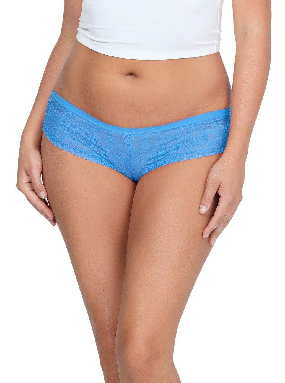ParfaitPanty SoGlam HIPSTERPP502 MediterraneanBlue FRONT 1 - Parfait Panty So Glam Hipster - Mediterranean Blue - PP502