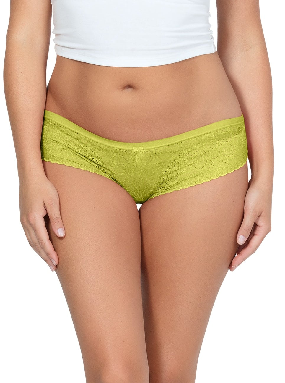 PARFAIT ParfaitPanty SoGlam HipsterPP502 Lemonade Front - Parfait Panty So Glam Hipster - Lemonade - PP502