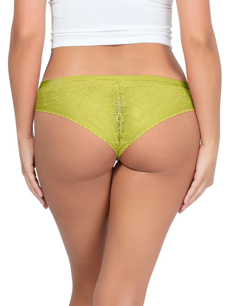 PARFAIT ParfaitPanty SoGlam BikiniPP302 Lemonade Back2 copy - Parfait Panty So Glam Bikini - Lemonade - PP302