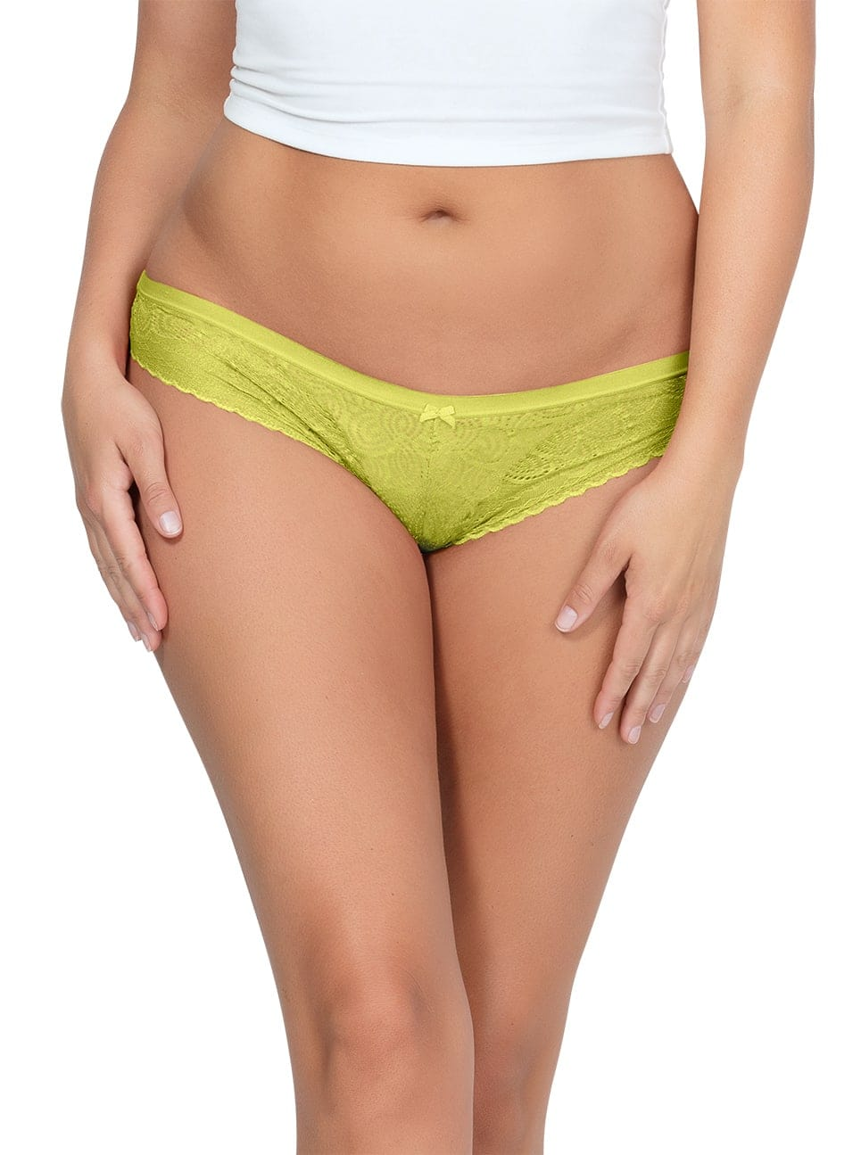 PARFAIT ParfaitPanty SoGlam BikiniPP302 Lemonade front - Parfait Panty So Glam Bikini - Lemonade - PP302