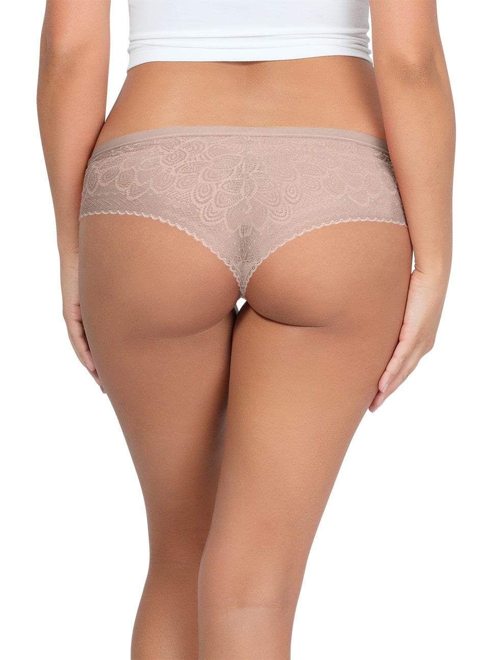 PARFAIT ParfaitPanty SoGlam HipsterPP502 Bare Back 1 - Parfait Panty So Glam Hipster - Bare - PP502