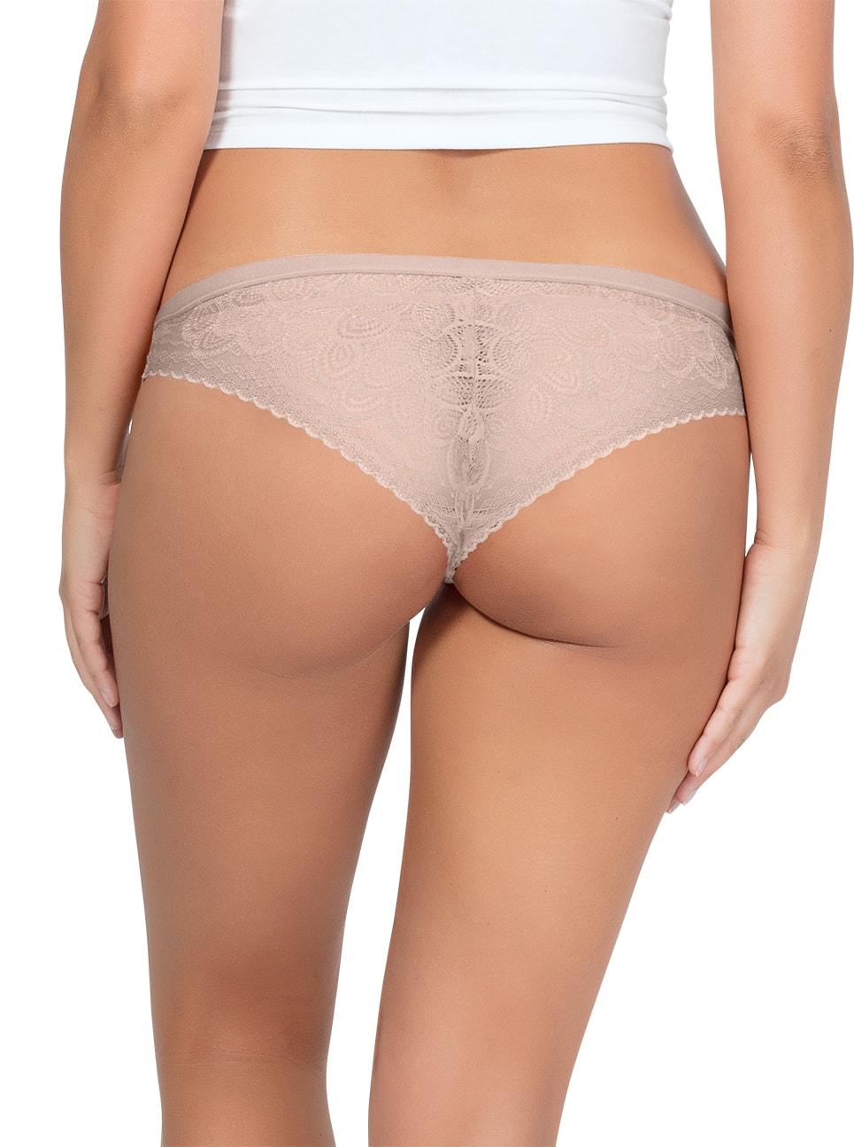 PARFAIT ParfaitPanty SoGlam BikiniPP302 Bare Back2 - Parfait Panty So Glam Bikini - Bare - PP302