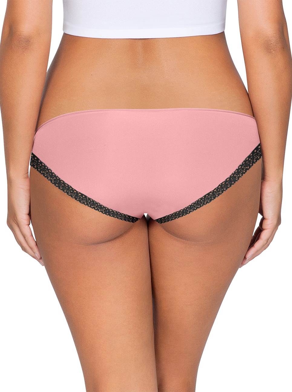 ParfaitPanty Solovely Bikini PP301 D PinkBack close - So Lovely Bikini Quartz Pink PP301