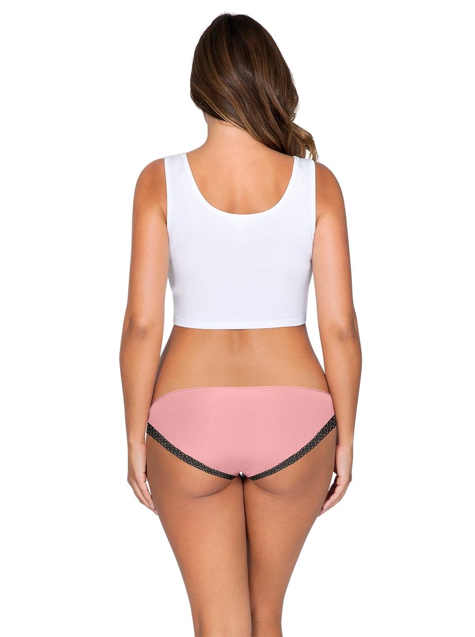 ParfaitPanty Solovely Bikini PP301 D PinkBack - So Lovely Bikini Quartz Pink PP301