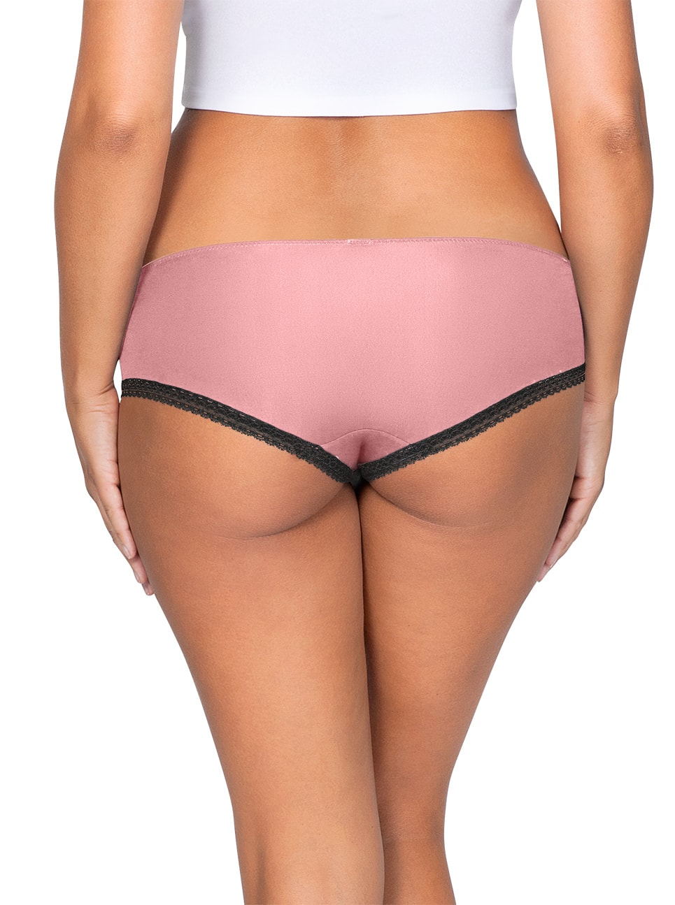 ParfaitPanty Solovely Thong PP401 D PinkBack - So Lovely Thong Quartz Pink PP401