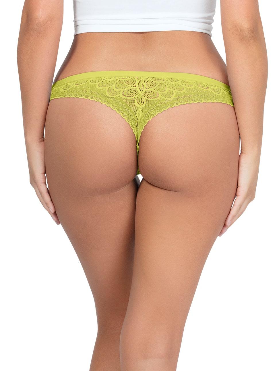 ParfaitPanty SoGlam ThongPP402 Lemonade Back - Parfait Panty So Glam Thong - Lemonade - PP402