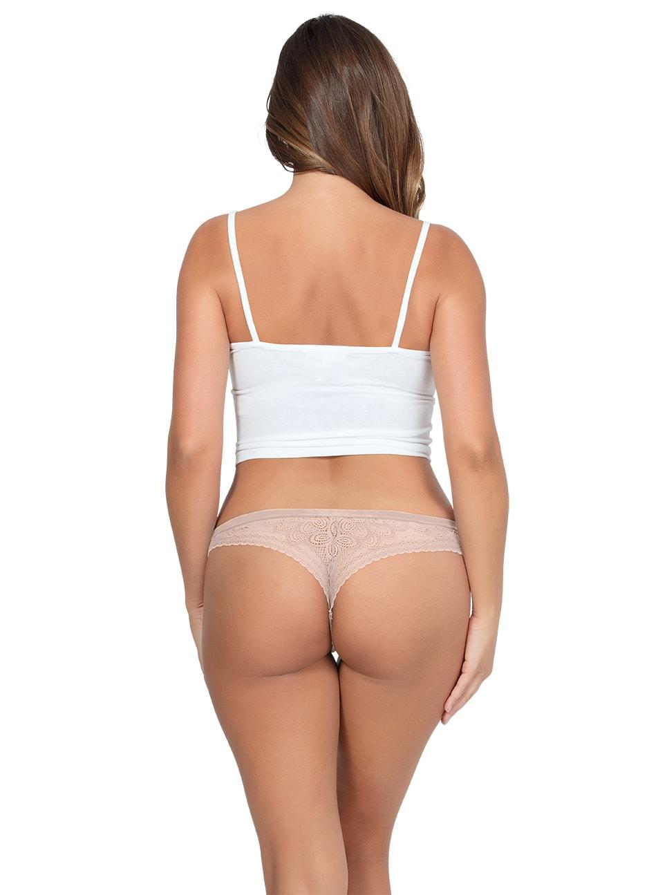 PARFAIT ParfaitPanty SoGlam ThongPP402 Bare Back copy - Parfait Panty So Glam Thong - Bare - PP402