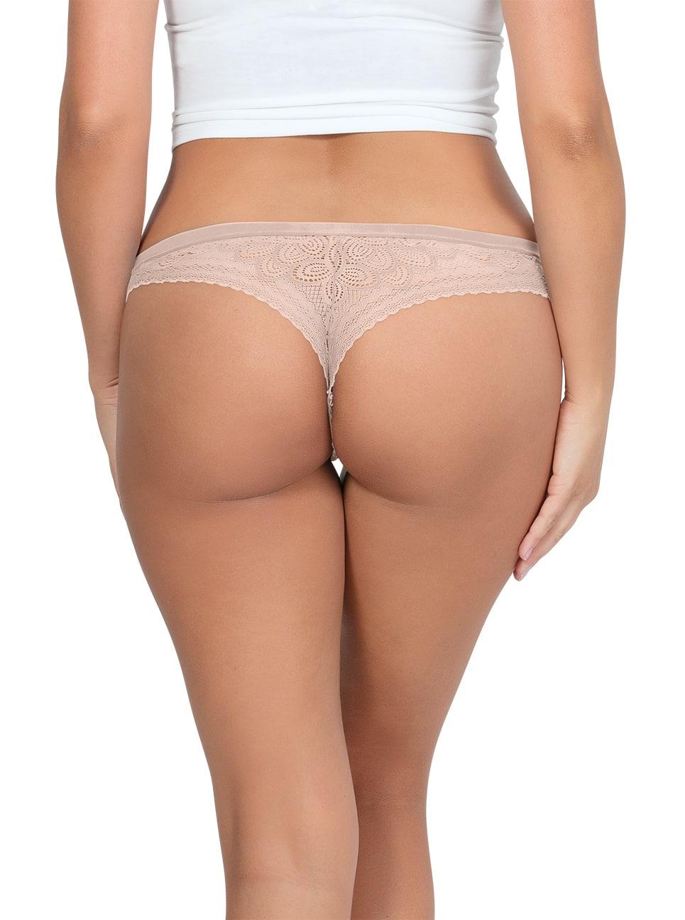 PARFAIT ParfaitPanty SoGlam ThongPP402 Bare Back - Parfait Panty So Glam Thong - Bare - PP402