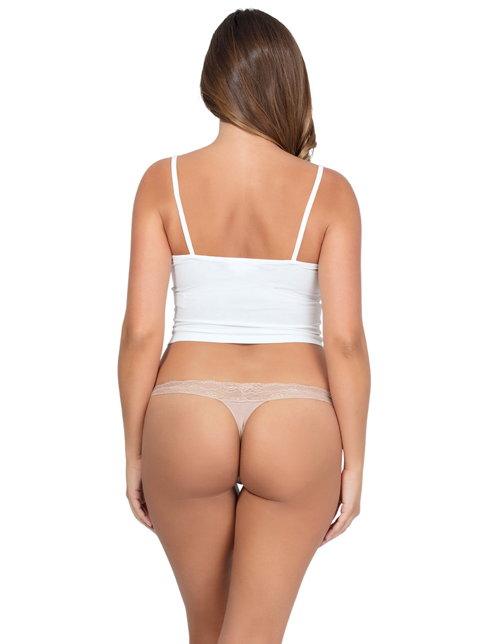 PARFAIT ParfaitPanty SoEssential ThongPP403 Bare Back copy - Parfait Panty So Essential Thong- Bare - PP403