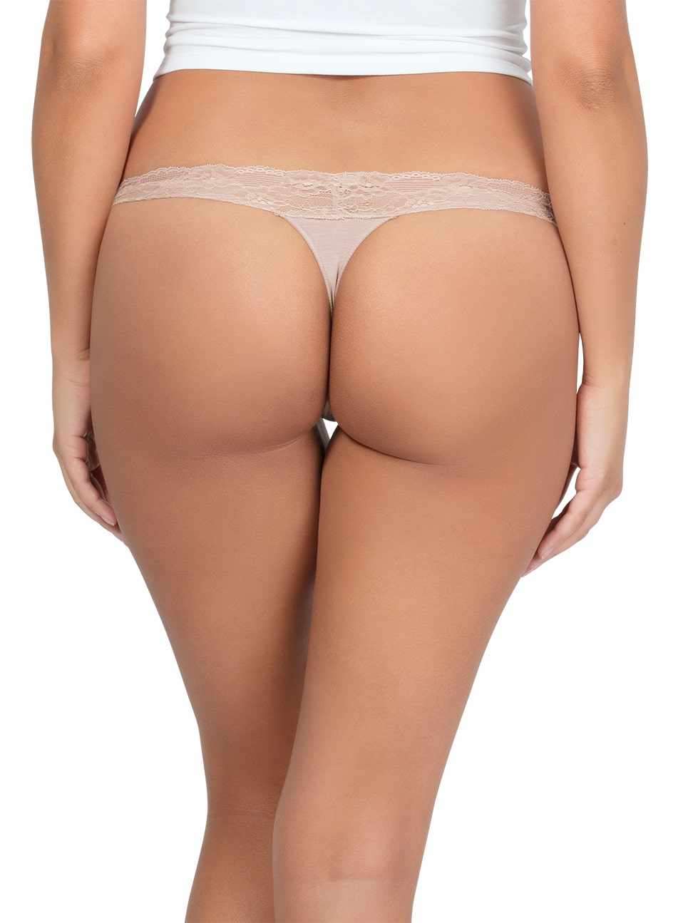 PARFAIT ParfaitPanty SoEssential ThongPP403 Bare Back - Parfait Panty So Essential Thong- Bare - PP403
