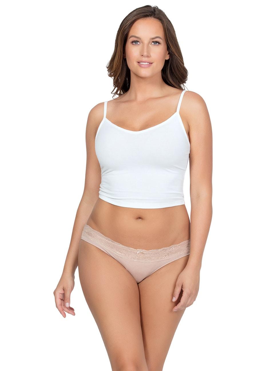 PARFAIT ParfaitPanty SoEssential BikiniPP303 Bare Front - Parfait Panty So Essential Bikini- Bare - PP303