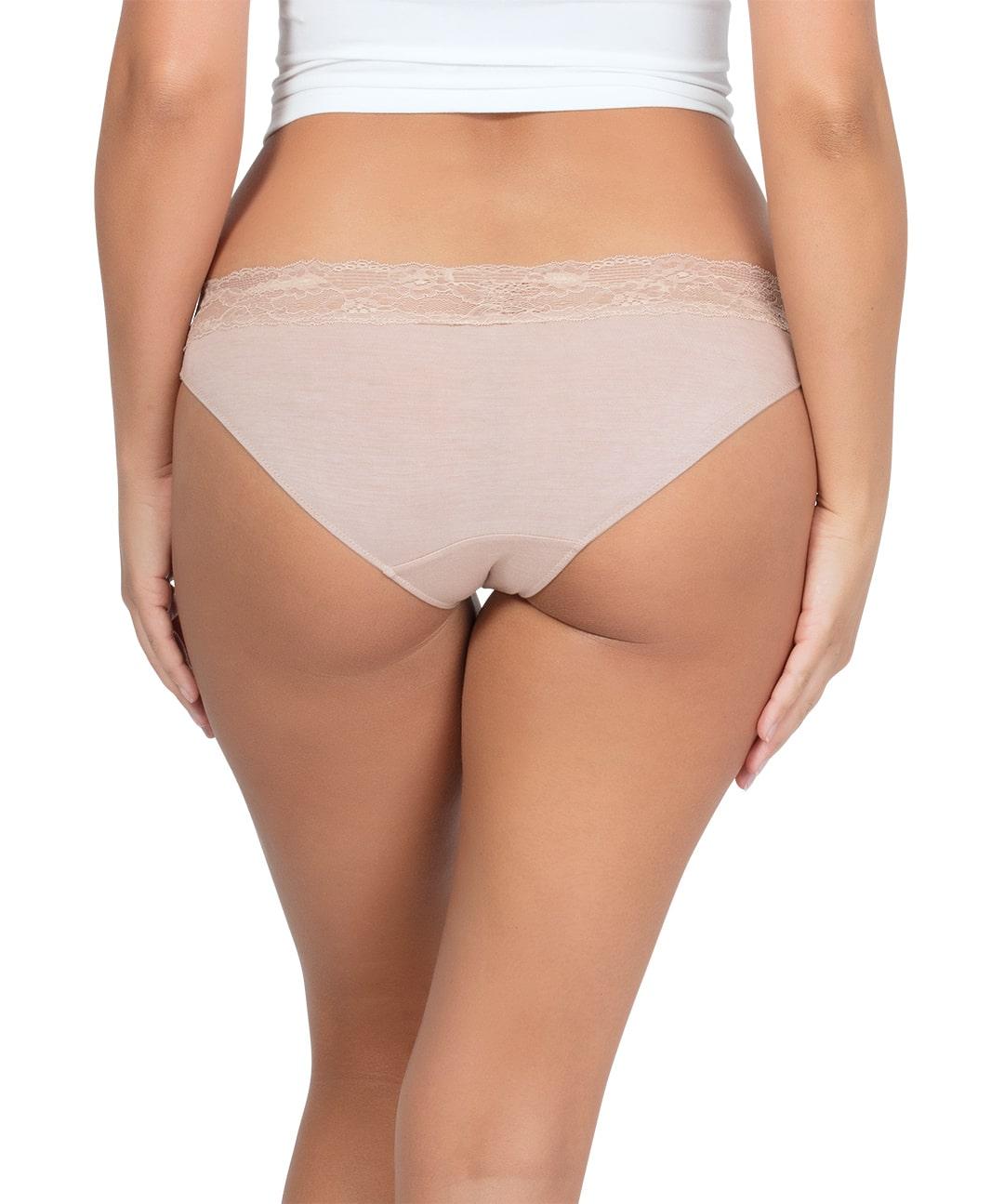 PARFAIT ParfaitPanty SoEssential BikiniPP303 Bare Back2 - Parfait Panty So Essential Bikini- Bare - PP303