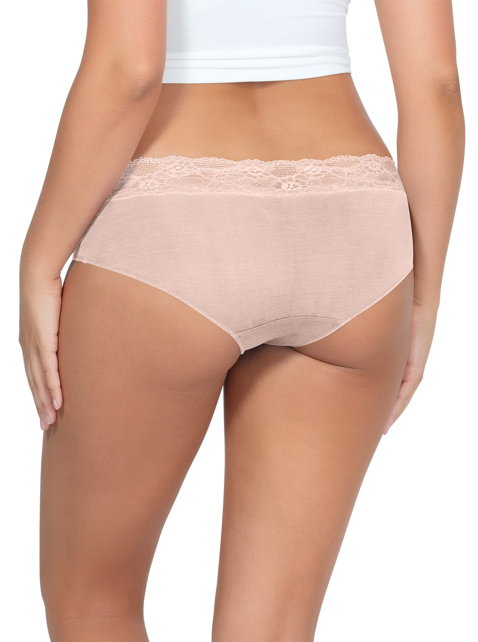 PARFAIT ParfaitPanty SoEssential HipsterPP503 Bare Back - Parfait Panty So Essential Hipster - Bare- PP503