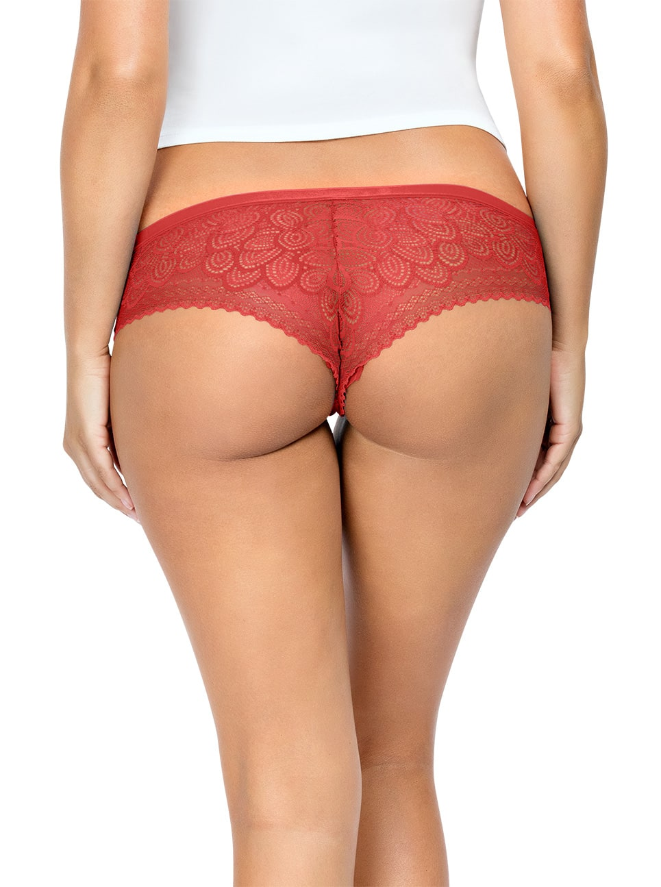 PARFAIT ParfaitPanty SoGlam HipsterPP502 Scarlette Back close - Parfait Panty So Glam Hipster - Scarlette - PP502
