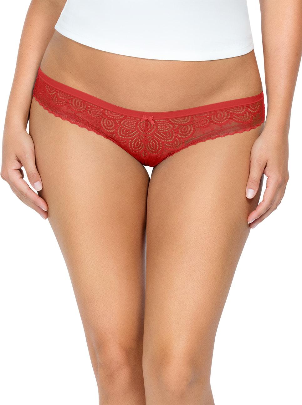 PARFAIT ParfaitPanty SoGlam BikiniPP302 Scarlette Front close - Parfait Panty So Glam Bikini - Scarlette - PP302