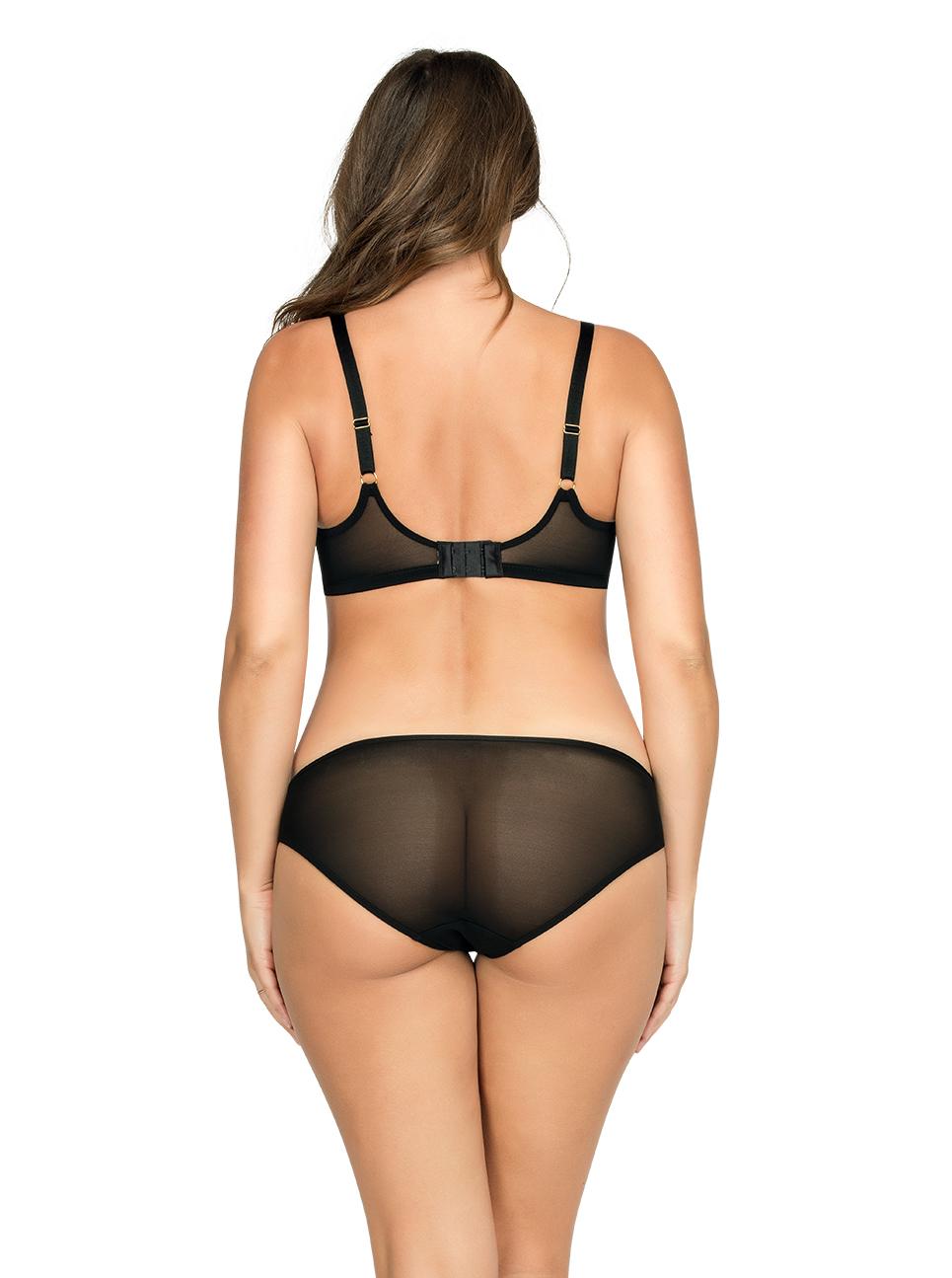 PARFAIT Briana PaddedBraP5671 BikiniP5673 BlackFloral Back - Briana Bikini Black Floral P5673
