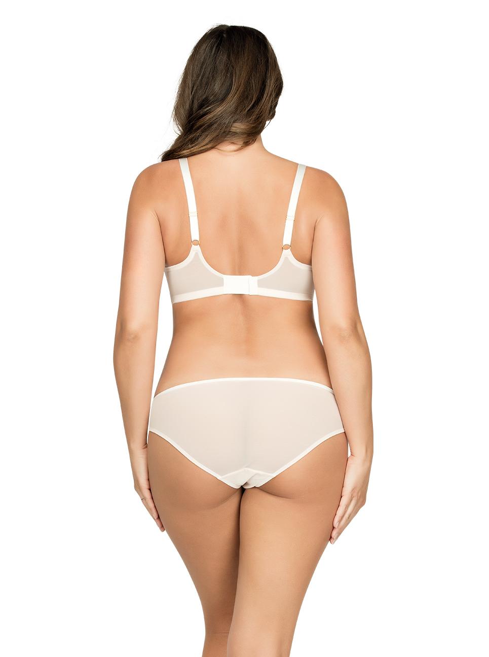 PARFAIT Briana PaddedBraP5671 BikiniP5673 PetalPinkFloral Back - Briana Bikini Petal Pink w Floral P5673
