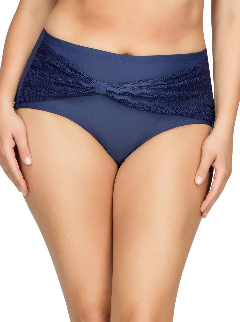 PARFAIT Keira HighWaistBikiniBottomS8075 Twilight Front1 - Keira High-Waist Bikini Bottom Twilight S8075