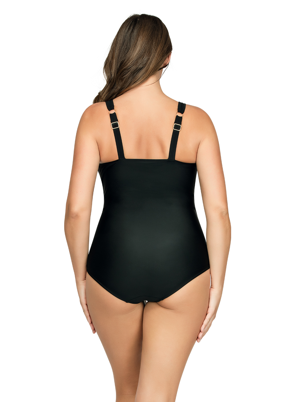 PARFAIT Oceane OnePieceSwimsuitS8066 Black Back - Oceane One-Piece Swimsuit Black S8066