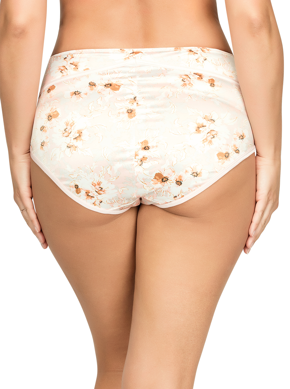 PARFAIT Charlotte HighwaistBrief6917 BlossomPrint Back - Charlotte Highwaist Brief - Blossom Print - 6917
