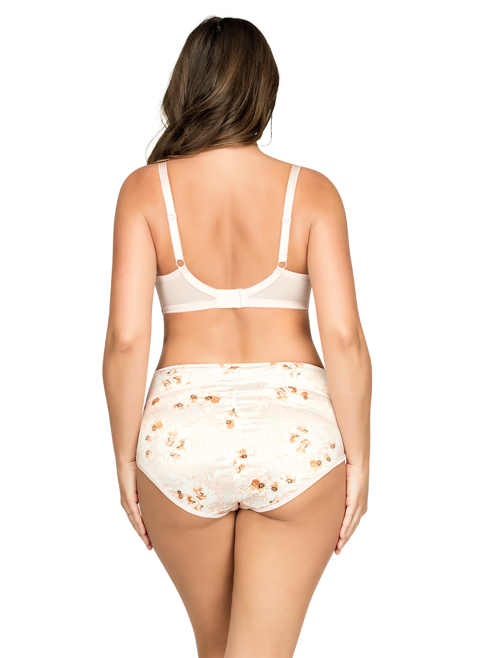 PARFAIT Charlotte PaddedBra6901 HighwaistBrief6917 BlossomPrint Back - Charlotte Highwaist Brief - Blossom Print - 6917