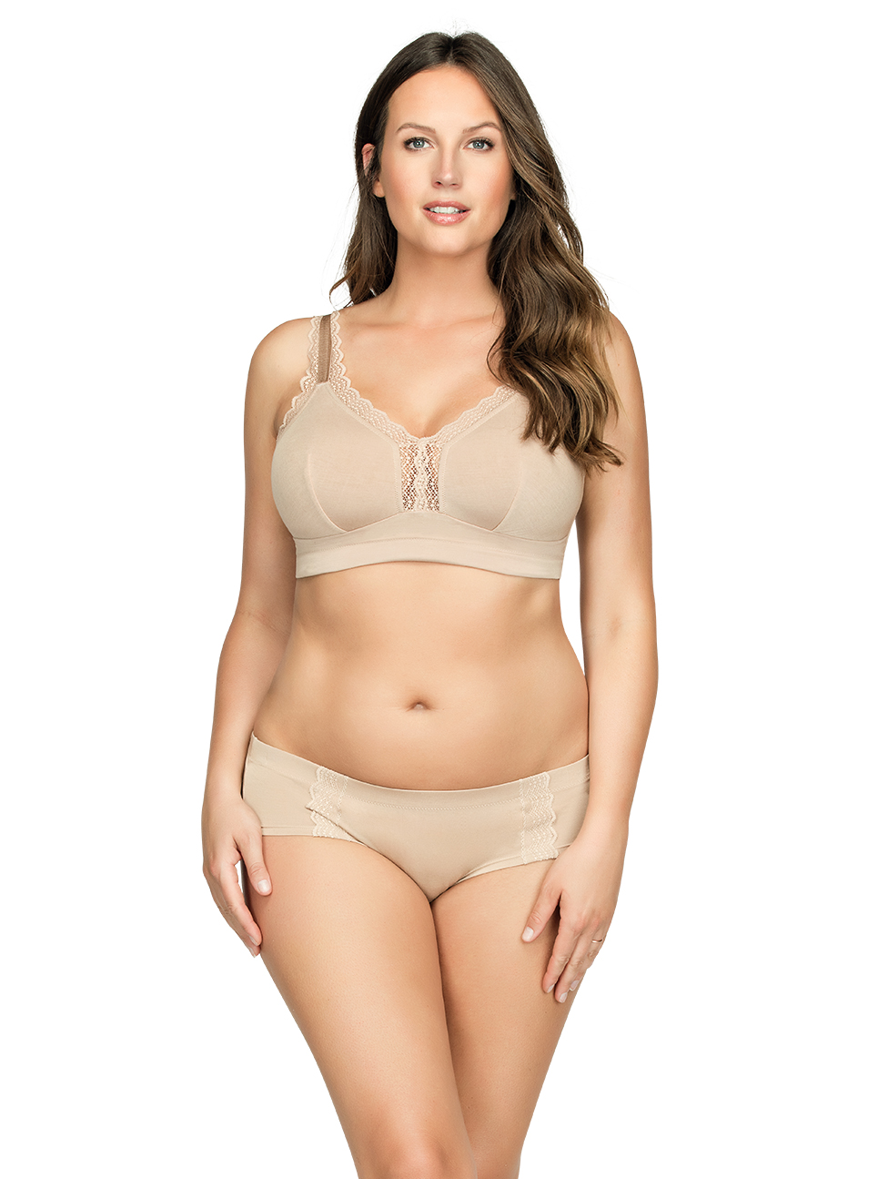PARFAIT Dalis BraletteP5641 HipsterP5645 Bare Front - Dalis Hipster - Bare - P5645
