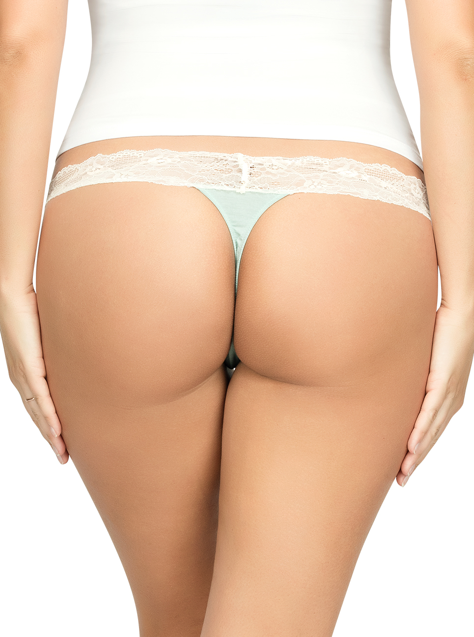 ParfaitPanty SoEssential ThongPP403 Surf Back - Parfait Panty So Essential Thong - Surf - PP403