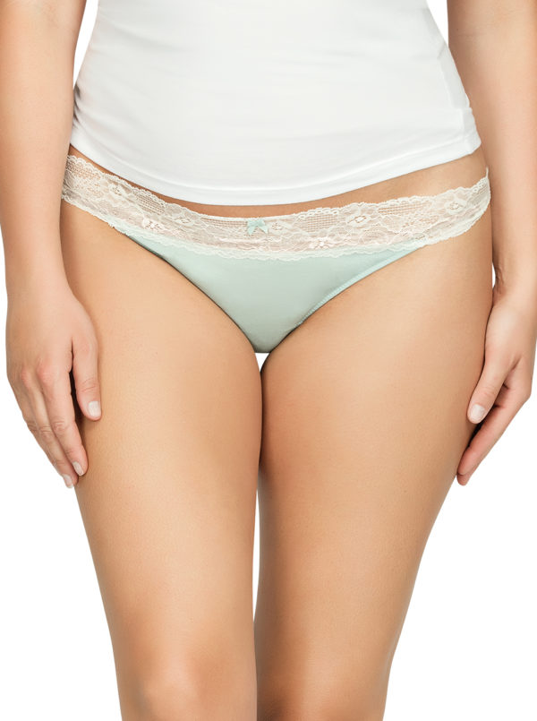 ParfaitPanty SoEssential ThongPP403 Surf Front1 600x805 - Parfait Panty So Essential Thong - Surf - PP403