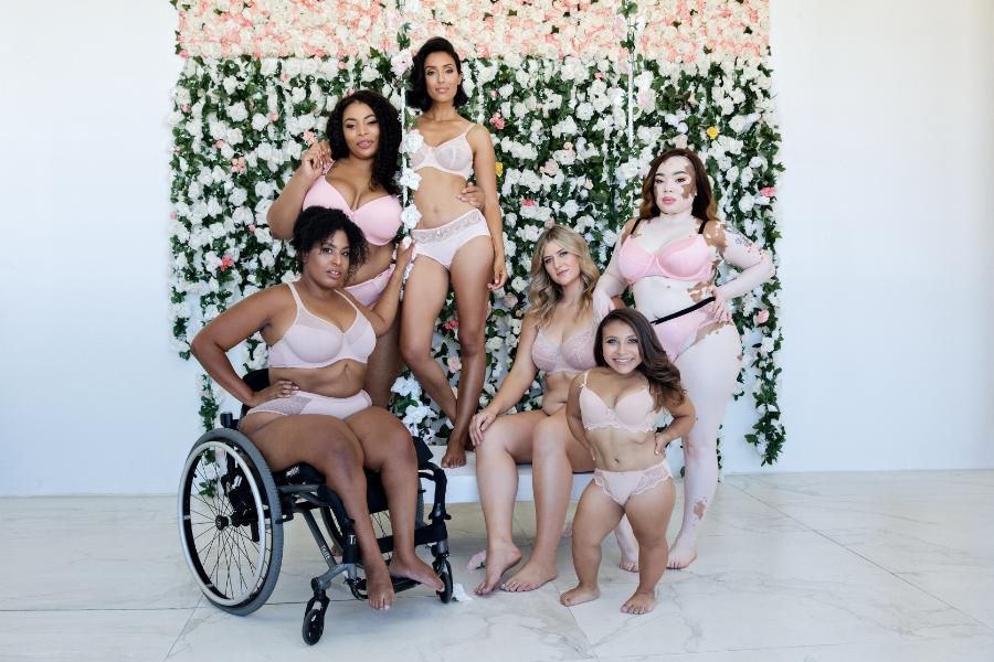 pink lingerie sets