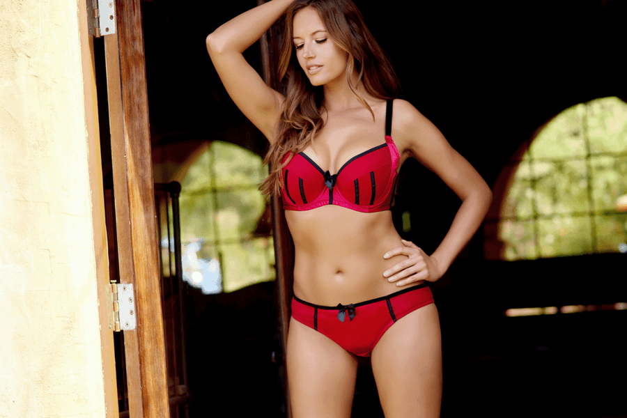 red bra - Lingerie We Love - Red Lingerie