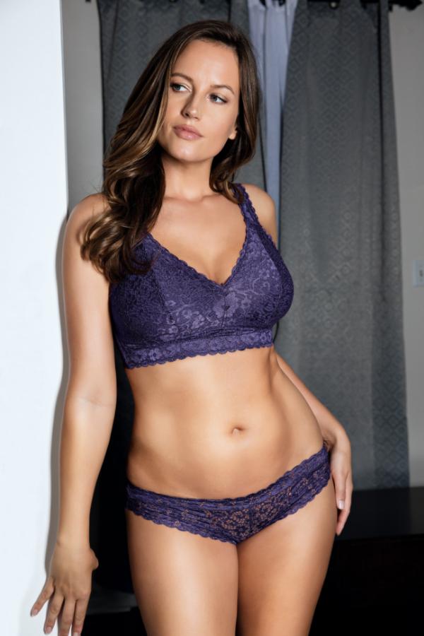 8038c890e34 Lingerie Favorites  Adriana Lace Bralette and Bikini ...