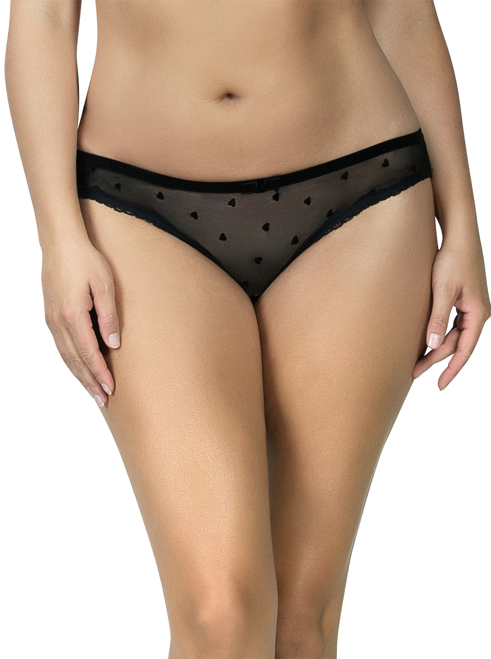 PARFAIT Lily BikiniP5813 Black Front - Lily Bikini Black P5813