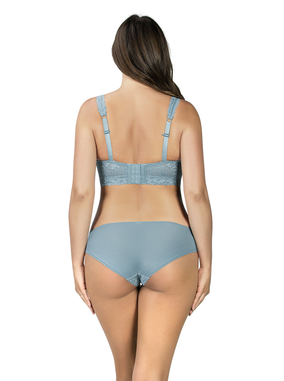 PARFAIT Adriana LaceBraletteP5482 BikiniP5483 StoneBlue Back - Adriana Lace Bralette Stone Blue P5482
