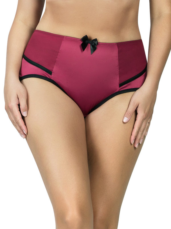 PARFAIT Charlotte HighwaistBrief6917 RioRed Front 600x805 - Charlotte Highwaist Brief Rio Red 6917