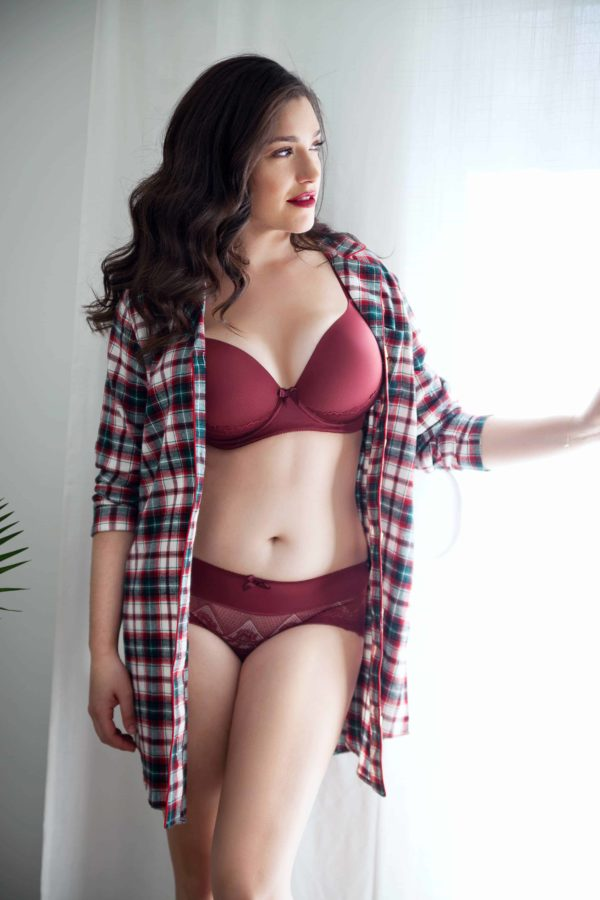 what bra can i wear with a plunging neckline