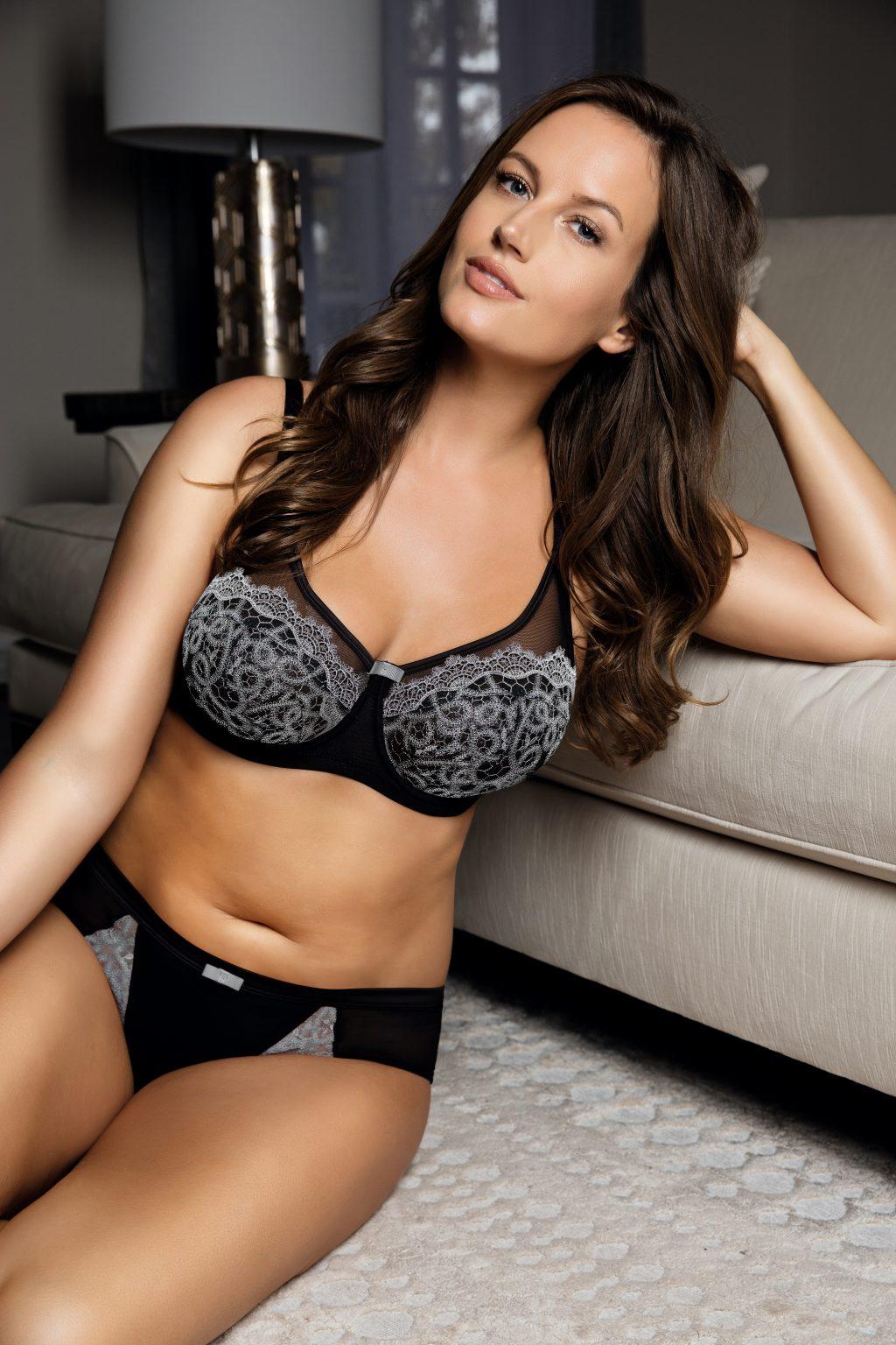 plus size sheer bra