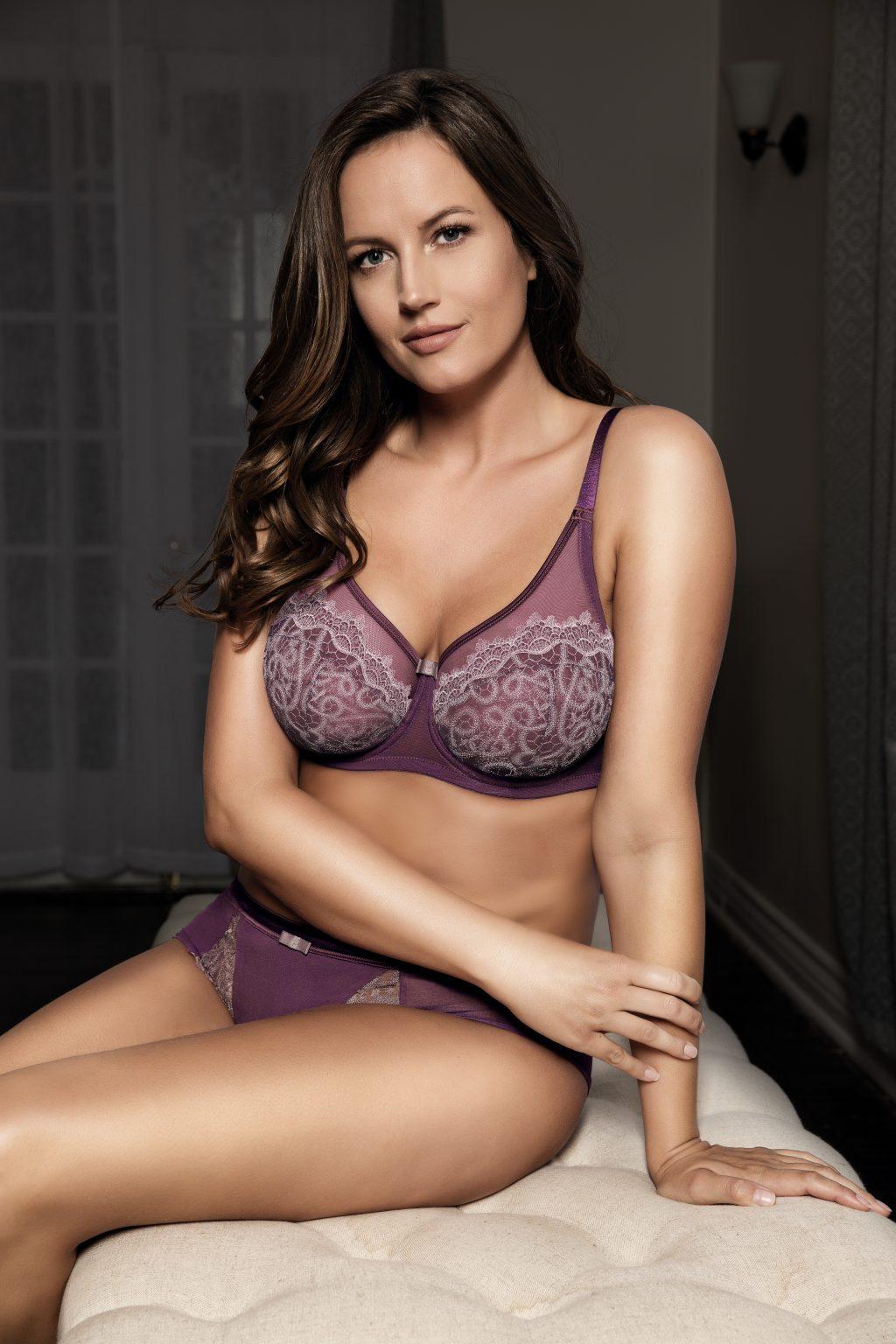 sexy sheer bra