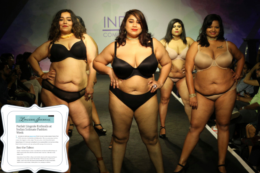 69330bc2174 All Sizes Are Beautiful! The Lingerie Journal Shares Highlights From Indian  Intimate Fashion Week