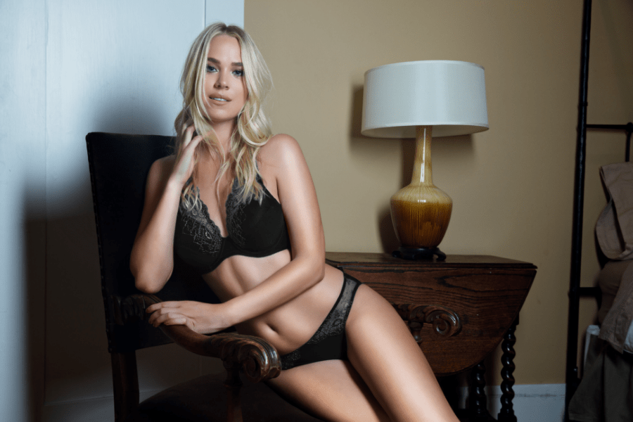 Allure Padded Bra Bikini Black - AW18 Lingerie Sneak Peek: The Allure Collection
